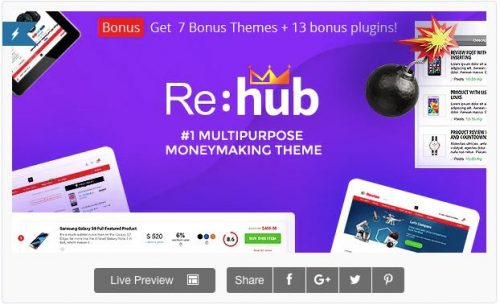 REHub theme amazon