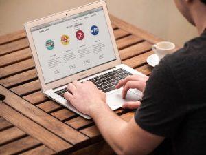 creare un sito web